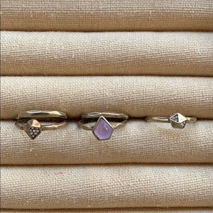 Chloe + Isabel Geovista Stackable Rings